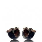 baby coconut earring (oval)