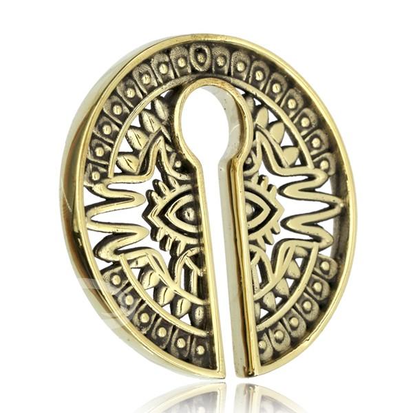 Organic Jewelry Wholesale Brass Collection Bkbw 056 Mayan Eye