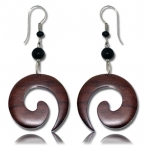 Spiral hook earring