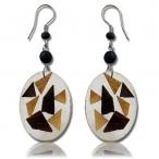 Coco resin earring