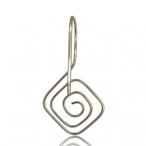 Hanging square spiral