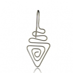 Hanging triangle spiral