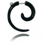 Black bone, small spiral