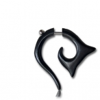 Black bone, spiky spiral
