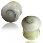 Solid shell plug with shiva eye